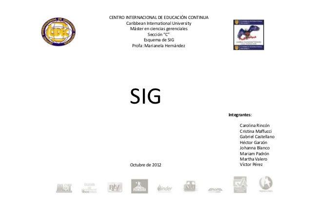 CENTRO INTERNACIONAL DE EDUCACIÓN CONTINUA        Caribbean International University          Máster en ciencias gerencial...