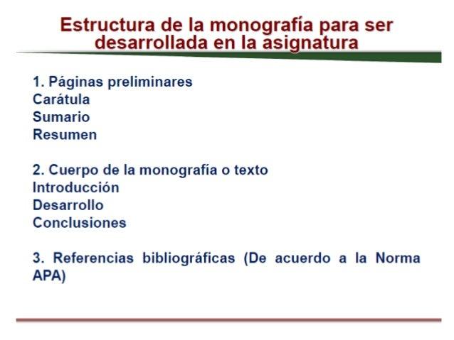 Esquema Monografia 1
