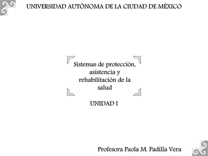 Estado            Políticas sociales Políticas de salud Estructuras de atención a la salud                                ...