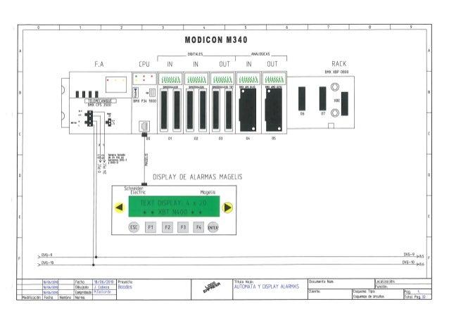 esquemas el u00e9ctricos cuadro control ch boades