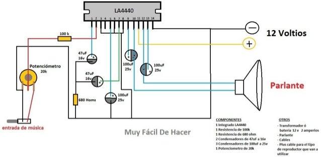Circuito Sencillo : Esquema sencillo del circuito