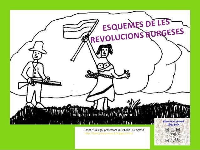 MES DE LES ESQUE BURGESES VOLUCIONS RE  Imatge procedent de La Bayoneta Empar Gallego, professora d'Història i Geografia h...