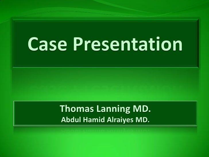 Thomas Lanning MD. Abdul Hamid Alraiyes MD.