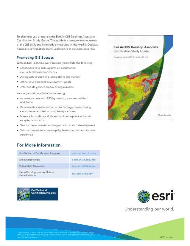 esri technical certification rh slideshare net GIS Graduate Certificate Programs GIS Graduate Certificate Programs