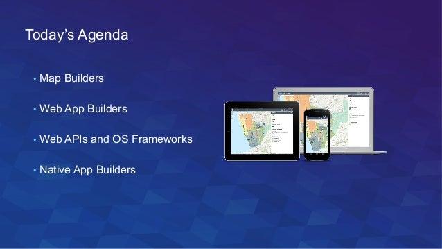 Esri Map App Builders
