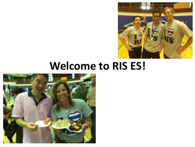 Welcome to RIS ES!