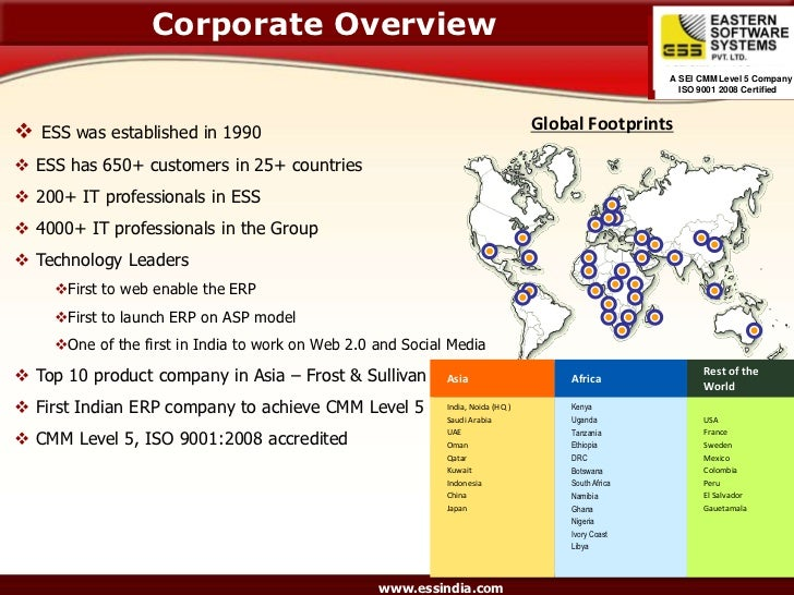 Corporate Overview                                                                                                     A S...