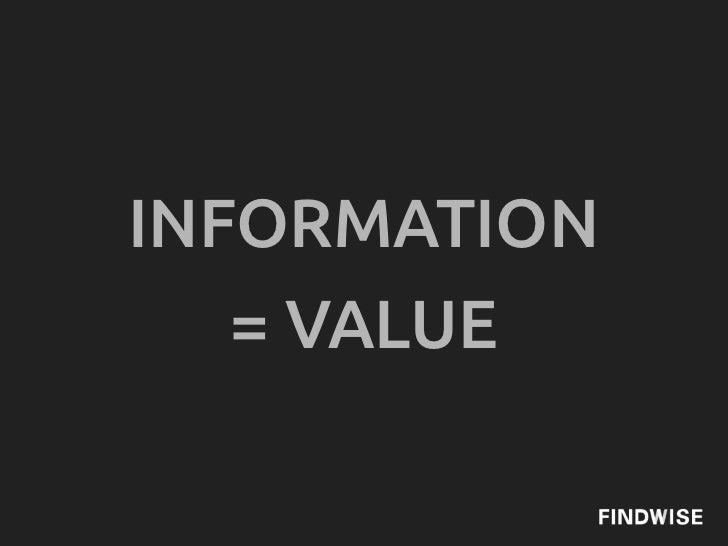 INFORMATION   = VALUE