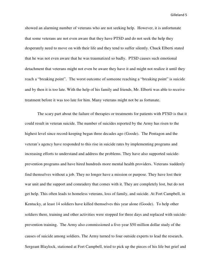 Essays on veterans roberto mattni co