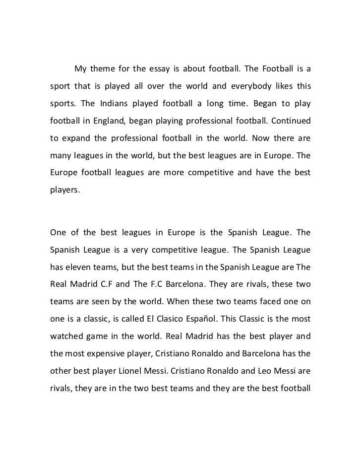 Madrid essay