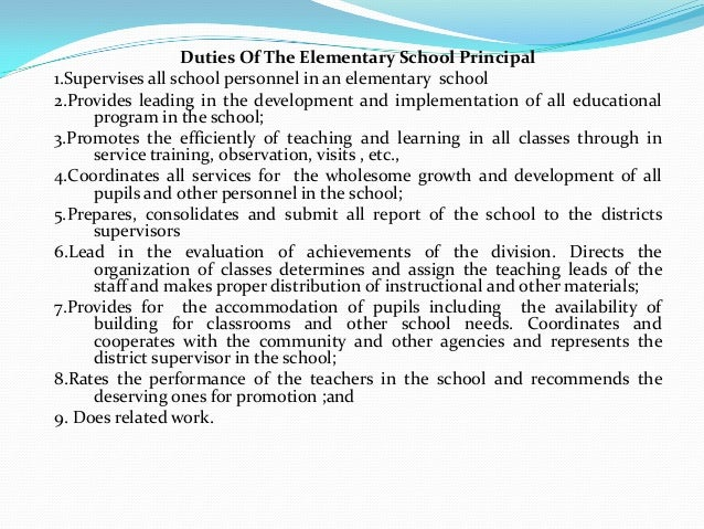 essay on role of principal in school The art of retaining general and special education teachers  the principal's role in new teacher induction in keeping  the critical role of school.