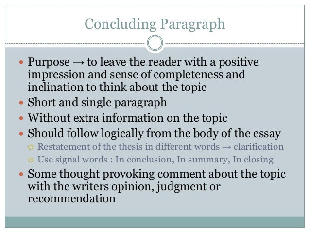 some concluding words use essay A better way of concluding an essay than writting in conclusion (some may not fit your purpose) i wouldn't use in conclusion.