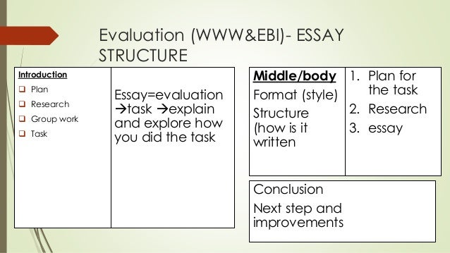 evaluative essay example evaluation essay