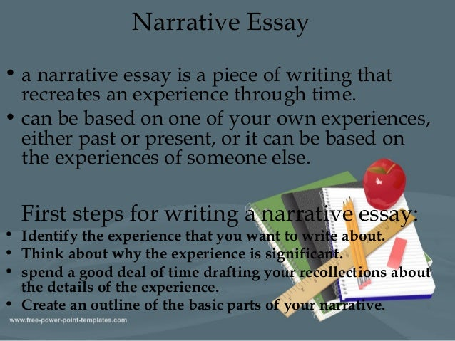 basic parts of a narrative essay