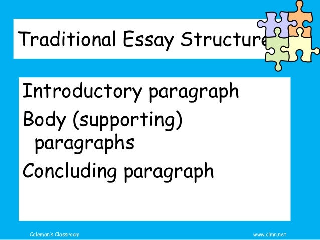 The Essay - A Plan for Starting Slide 3