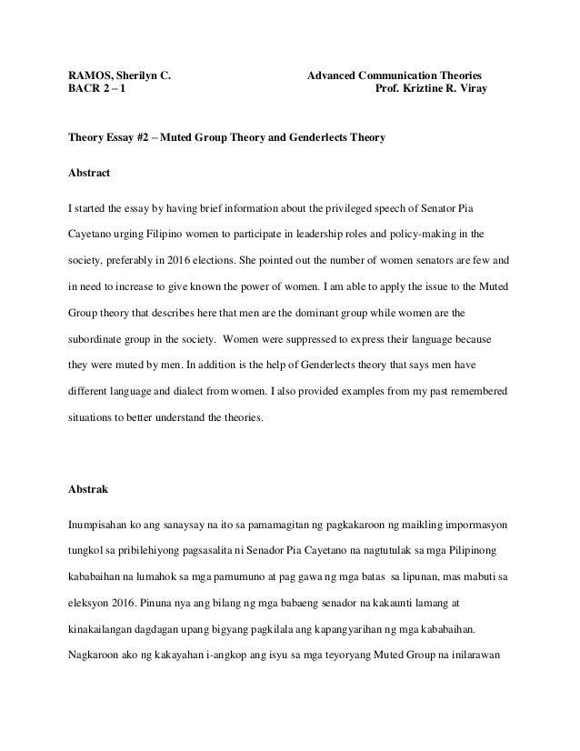 muted group theory pdf
