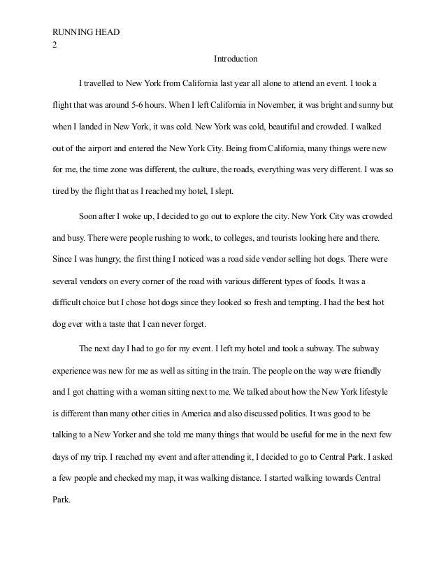 traveling essay