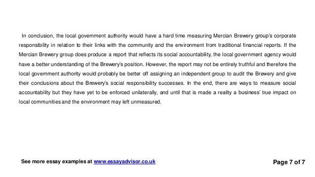 essay advisor essay example on corporate social responsibility essay examples at essayadvisor co uk 7