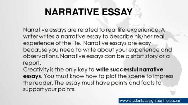 types of essays narrative essay studentsassignmenthelp com