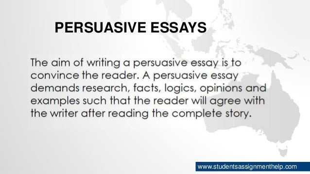types of essays persuasive essays studentsassignmenthelp com