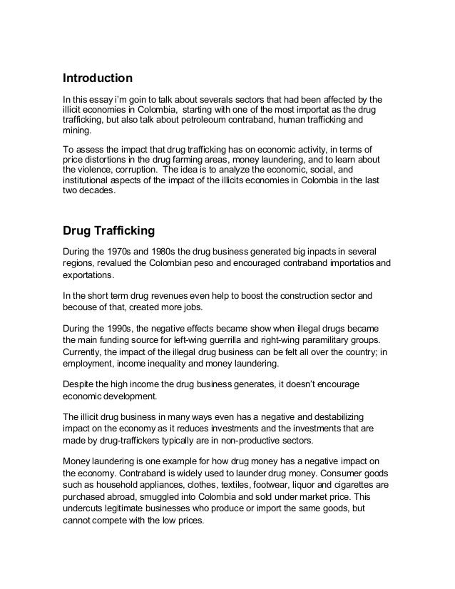 drug trafficking essay twenty hueandi co drug trafficking essay