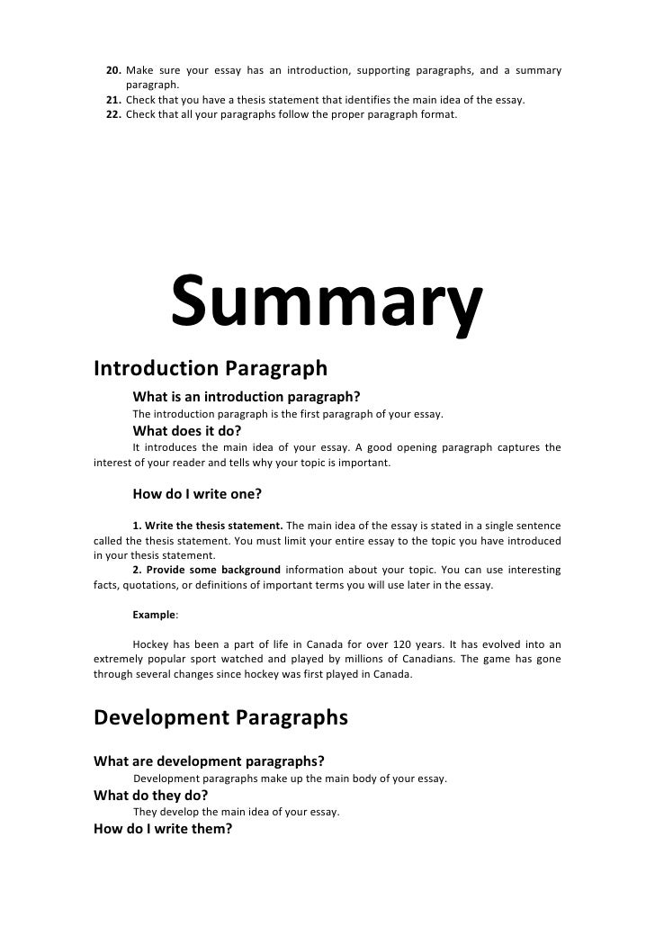 the introduction of an essay Parts of an essay introduction paragraph what is an introduction paragraph the introduction paragraph is the first paragraph of your essay what does it do.