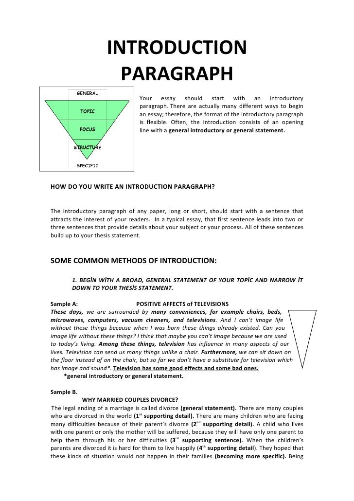 introduction paragraph format for essay An experienced high school english teacher shares tips and tricks to make your teaching life easier today, we're talking about how to help our high school and middle school students write.