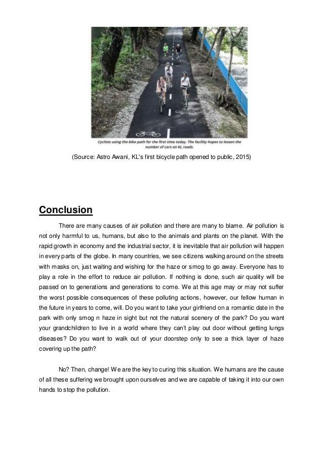 pollution essay conclusion