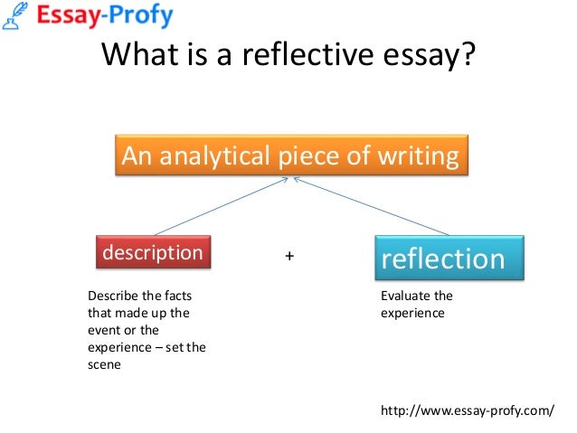 essayprofy how to write a reflective essay  3 what is a reflective essay