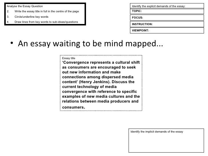 essay skills understanding the essay question essay title