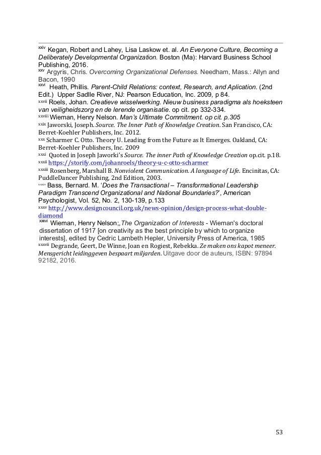 The Study Of Human Behavior In Organizational Contexts