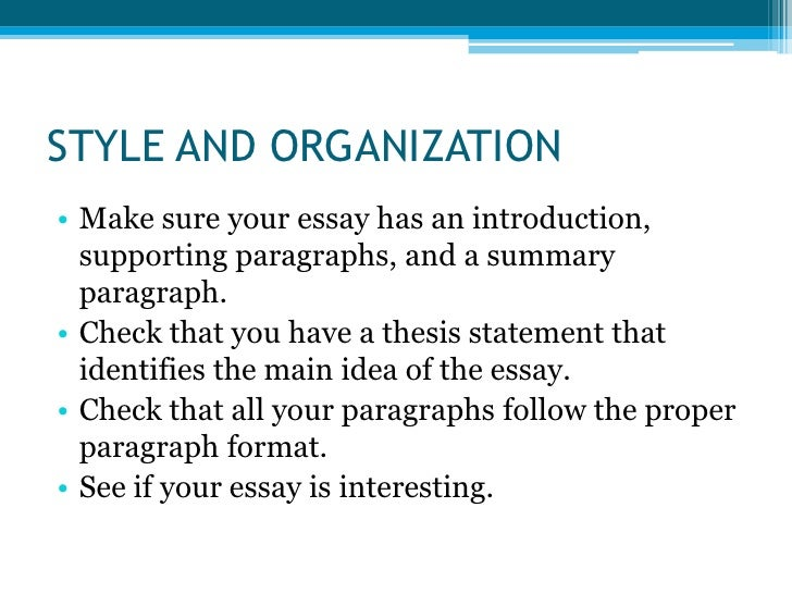 main steps to write an essay This blog post contains important information you'll need to write your paper—in particular, how to write a thesis statement in 4 simple steps.