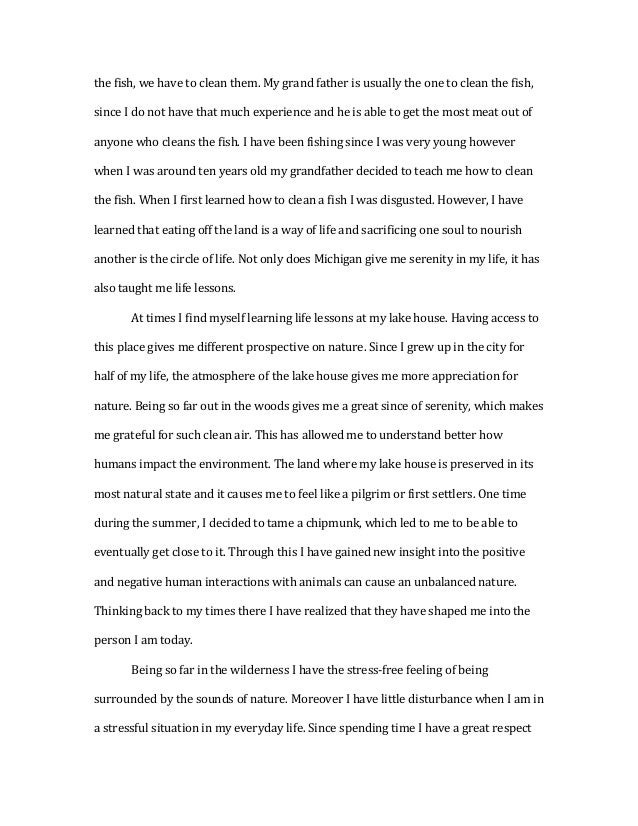 essay on the circle of life