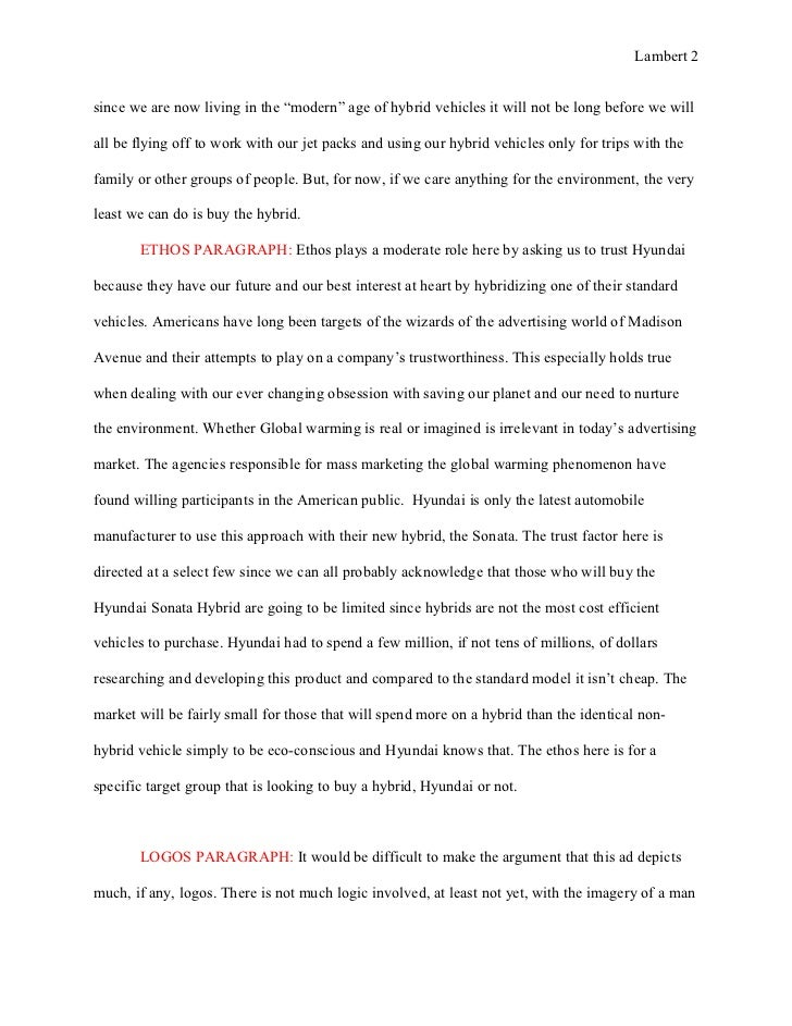 ad analysis essay co essay 1 ad analysis rough draft the hyundai hubrid hype
