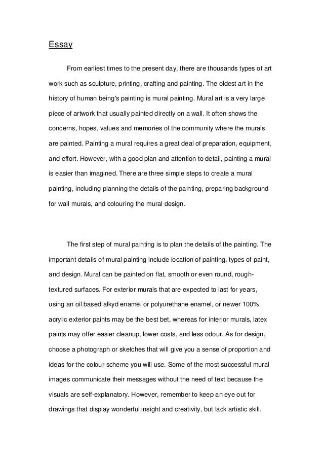 Art Essay Sample Artist Statement Henry Bismuth Artist Statement H