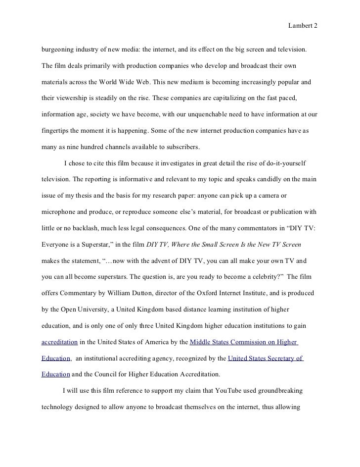 essay annotated bibliography final copy
