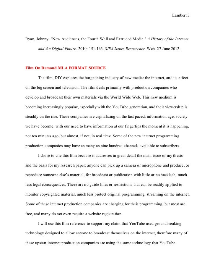 Annotated Bibliography Rough Draft Essay