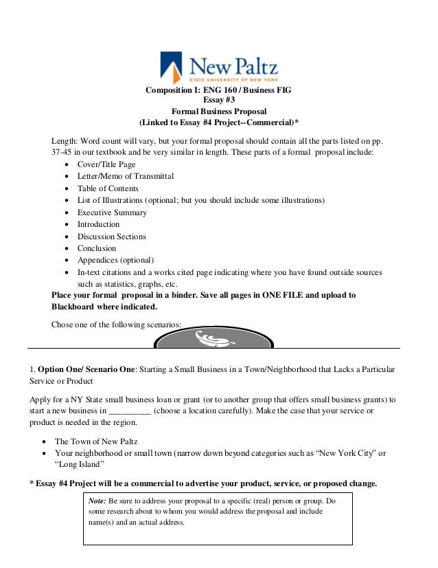 how to write a business proposal letter