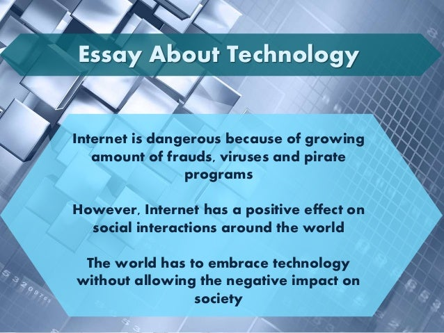 Essay On Religion And Science Essay About Technology  High School Essay also My Country Sri Lanka Essay English Essay About Technology Compare And Contrast Essay Examples For High School