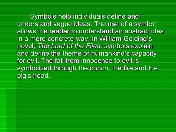 symbol essay Symbolism is a common linguistic tool in numerous literary works it is a way to link a certain object, character, or situation with an idea the general purpose of a.