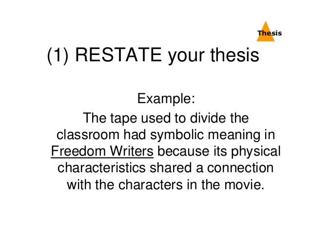 Essay Conclusions