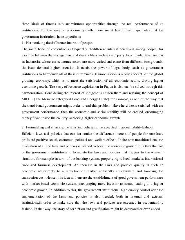 Addressing Indonesia's Economy in Transisitional Era Slide 2