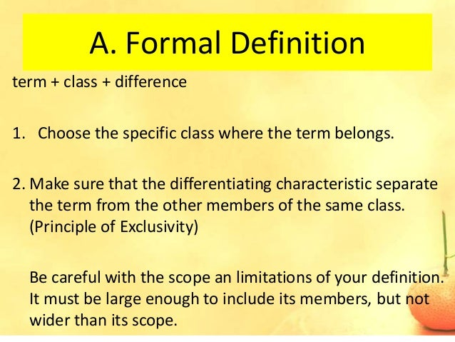 Overly Formal Definition Essay - image 10