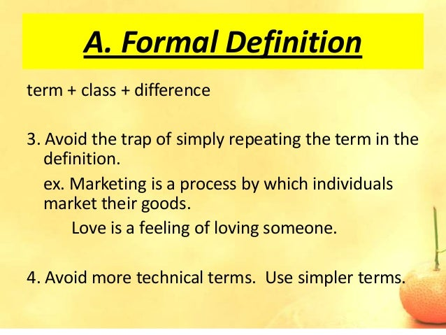 Overly Formal Definition Essay - image 9