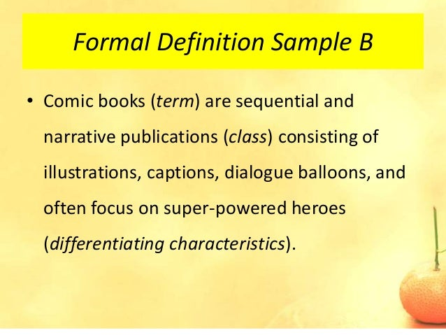 Overly Formal Definition Essay - image 8