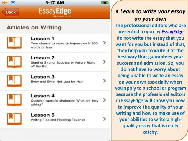 essay edge editors October 2018 essayedge coupon codes  with some help from essayedge editors, your next essay will win over readers and  essay edge takes your words and writing.
