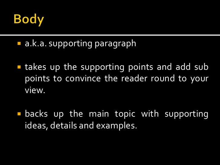 elements and types of essay 4 type