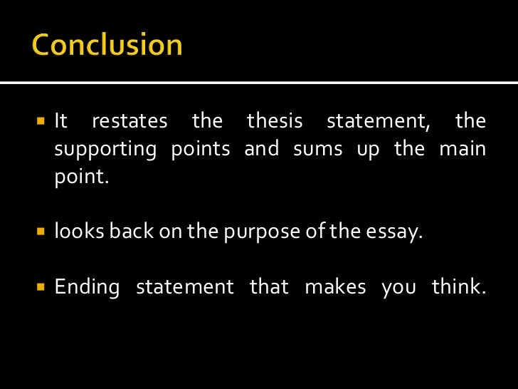 Elements And Types Of Essay