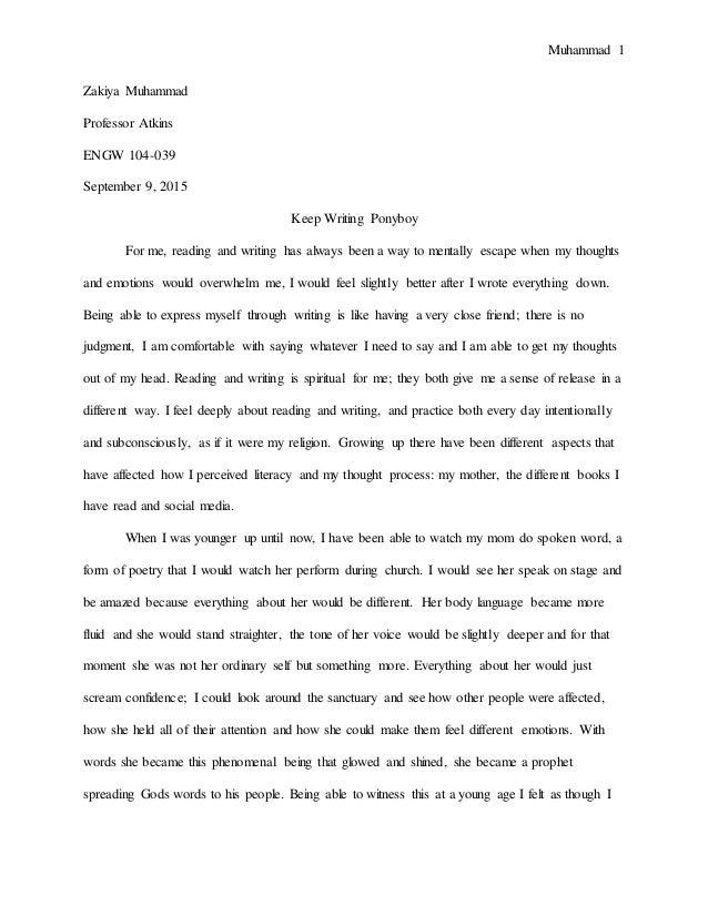 Rough Draft Final Copy Essay - Essay For You