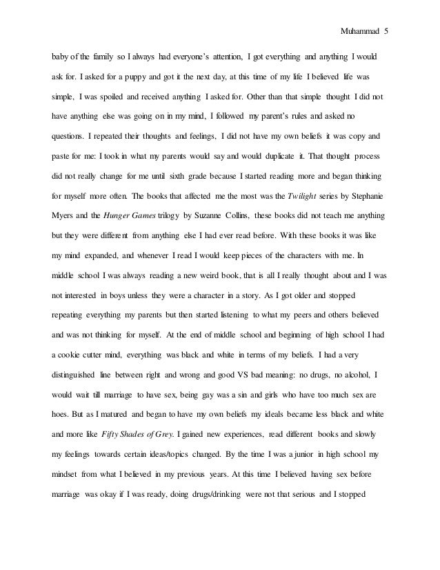 essay on book i like most